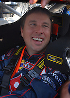 Feb 10, 2007; Daytona, FL, USA; Nascar Nextel Cup driver David Reutimann (00) during practice for the Daytona 500 at Daytona International Speedway. Mandatory Credit: Mark J. Rebilas