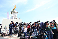 Photographers<br /> Trooping the Colour, at Buckingham Palace, London, England, UK  June 09, 2018.<br /> CAP/GOL<br /> &copy;GOL/Capital Pictures