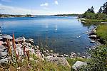 Sunny Cove and Rocky Shore on the Island of Kökar