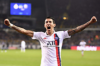 JOIE - 11 ANGEL DI MARIA (PSG) celebrates after scoring a goal <br /> Bruges 22-10-2019 <br /> Club Brugge - Paris Saint Germain PSG <br /> Champions League 2019/2020<br /> Foto Panoramic / Insidefoto <br /> Italy Only