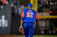 Yoalkis Cruz, pitcher relevo  por Cuba  <br /> <br /> .<br /> Partido de beisbol de la Serie del Caribe con el encuentro entre los Alazanes de Gamma de Cuba contra las &Aacute;guilas Cibae&ntilde;as de Republica Dominicana en estadio Panamericano en Guadalajara, M&eacute;xico, Lunes 5 feb 2018. <br /> (Foto: Luis Gutierrez)<br /> <br /> .<br /> Baseball game of the Caribbean Series with the match between the Gamma Alazanes of Cuba against the Cibae&ntilde;as Eagles of the Dominican Republic at the Pan American Stadium in Guadalajara, Mexico, Monday, Feb. 5, 2018.<br /> (Photo: Luis Gutierrez)