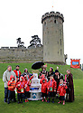 08/05/14<br /> <br /> ***FREE PHOTO FOR EDITORIAL USE***<br /> <br /> School children from RNIB Pears Centre for Specialist Learning in Coventry, visit Warwick Castle to enjoy a day out to celebrate the castle's 1100th birthday. This is part of a wider event in which 10,000 children around the World are taking part to mark the opening of Merlin's 100th attraction, thanks to funding by the charity Merlin's Magic Wand.<br /> <br /> All Rights Reserved - F Stop Press.  www.fstoppress.com. Tel: +44 (0)1335 300098