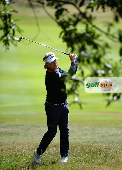 Bernhard Langer of Germany during the Second Round of The Senior Open at Sunningdale Golf Club, Sunningdale, England. Picture: Golffile   Richard Martin-Roberts<br /> All photo usage must carry mandatory copyright credit (&copy; Golffile   Richard Martin- Roberts)
