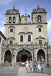 Main Facade of Se Cathedral, Braga, Portugal
