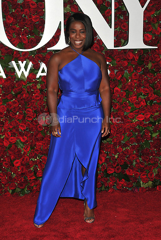 NEW YORK, NY - JUNE 12: Uzo Aduba at the 70th Annual Tony Awards at The Beacon Theatre on June 12, 2016 in New York City. Credit: John Palmer/MediaPunch