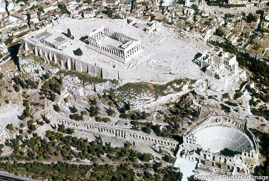 Greece: Acropolis--General view. Ref. only.