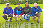 Playing around at the Killarney Celtic golf classic in Laccabawn golf course on Saturday was l-r: Edward Stack, Mike Connor, Geraldine Fleming and Pat O'Connor....