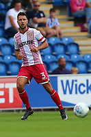 Joe Martin of Stevenage during Colchester United vs Stevenage, Sky Bet EFL League 2 Football at the Weston Homes Community Stadium on 12th August 2017