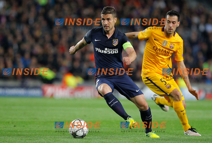 gabi (atletico)<br />  <br /> Barcellona 05-04-2016 <br /> Football Calcio 2015/2016 Champions League <br /> Barcellona - Atletico Madrid Quarti di finale<br /> Foto Panoramic / Insidefoto <br /> ITALY ONLY