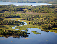 Aerial of Gold Portage, Voyageurs National Park, Minnesota