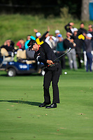 Lee Slattery (ENG) on the 17th fairway during Round 4 of the D+D Real Czech Masters at the Albatross Golf Resort, Prague, Czech Rep. 03/09/2017<br /> Picture: Golffile | Thos Caffrey<br /> <br /> <br /> All photo usage must carry mandatory copyright credit     (&copy; Golffile | Thos Caffrey)