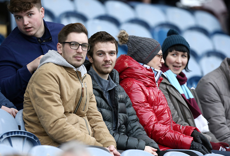 Burnley fans wait for kick-off <br /> <br /> Photographer Rich Linley/CameraSport<br /> <br /> The Premier League - Burnley v Everton - Wednesday 26th December 2018 - Turf Moor - Burnley<br /> <br /> World Copyright © 2018 CameraSport. All rights reserved. 43 Linden Ave. Countesthorpe. Leicester. England. LE8 5PG - Tel: +44 (0) 116 277 4147 - admin@camerasport.com - www.camerasport.com