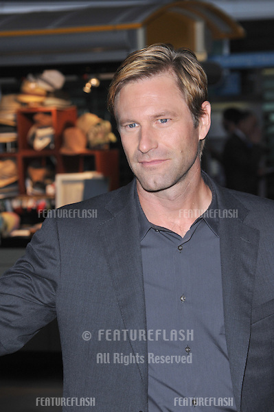 "Aaron Eckhart at the Los Angeles premiere of his new movie ""Towelhead"" at the Arclight Theatre, Hollywood..September 3, 2008  Los Angeles, CA.Picture: Paul Smith / Featureflash"