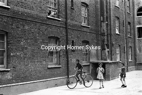 Great Eastern Buildings. Tower Hamlets Whitechapel east London UK 1973?.  <br />