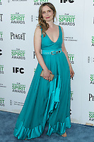 SANTA MONICA, CA, USA - MARCH 01: Julie Delpy at the 2014 Film Independent Spirit Awards held at Santa Monica Beach on March 1, 2014 in Santa Monica, California, United States. (Photo by Xavier Collin/Celebrity Monitor)