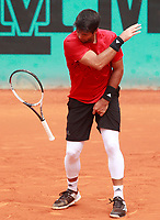 Fernando Verdasco, Spain, during Madrid Open Tennis 2018 match. May 9, 2018.(ALTERPHOTOS/Acero) /NortePhoto NORTEPHOTOMEXICO