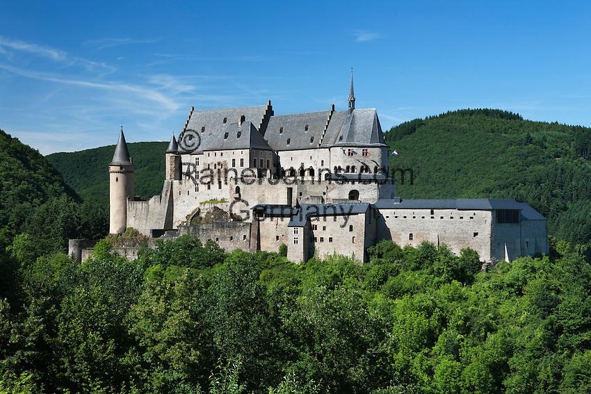 Grand Duchy of Luxembourg, Vianden: Vianden castle