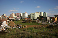 Apartment blocks in the suburbs of Pendik, Istanbul, Turkey