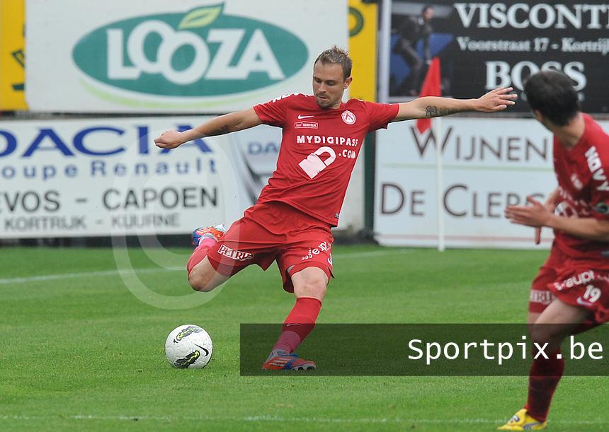 KV Kortrijk : Baptiste Martin.foto VDB / BART VANDENBROUCKE
