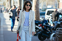 Leandra Medine at Paris Fashion Week (Photo by Hunter Abrams/Guest of a Guest)