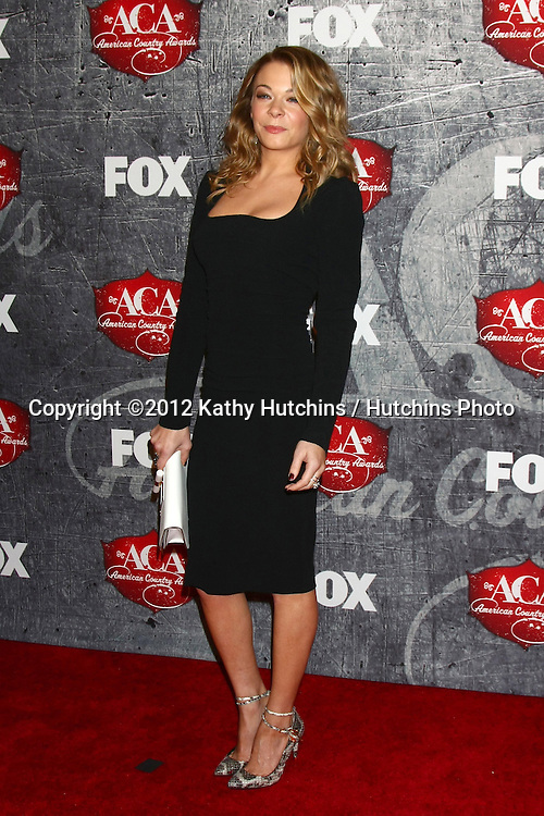 LOS ANGELES - DEC 10:  LeAnn Rimes arrives to the American Country Awards 2012 at Mandalay Bay Resort and Casino on December 10, 2012 in Las Vegas, NV