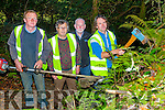 Keeping the Glanageenty Wood and Walk Way clean Pat O'Connell,John Houlihan and John Linehan, and looking on was joint Treasurer John Lyons.