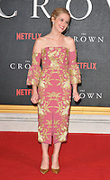 Claire Foy at the &quot;The Crown&quot; TV premiere, Odeon Leicester Square cinema, Leicester Square, London, England, UK, on Tuesday 01 November 2016. <br /> CAP/CAN<br /> &copy;CAN/Capital Pictures /MediaPunch ***NORTH AND SOUTH AMERICAS ONLY***