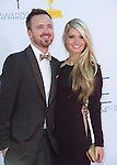 """AARON PAUL AND FIANCE LAUREN PARSEKIAN - 64TH PRIME TIME EMMY AWARDS.Nokia Theatre Live, Los Angelees_23/09/2012.Mandatory Credit Photo: ©Dias/NEWSPIX INTERNATIONAL..**ALL FEES PAYABLE TO: """"NEWSPIX INTERNATIONAL""""**..IMMEDIATE CONFIRMATION OF USAGE REQUIRED:.Newspix International, 31 Chinnery Hill, Bishop's Stortford, ENGLAND CM23 3PS.Tel:+441279 324672  ; Fax: +441279656877.Mobile:  07775681153.e-mail: info@newspixinternational.co.uk"""