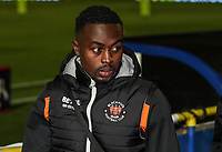 Blackpool's Joe Dodoo <br /> <br /> Photographer Andrew Kearns/CameraSport<br /> <br /> The Emirates FA Cup Second Round - Solihull Moors v Blackpool - Friday 30th November 2018 - Damson Park - Solihull<br />  <br /> World Copyright © 2018 CameraSport. All rights reserved. 43 Linden Ave. Countesthorpe. Leicester. England. LE8 5PG - Tel: +44 (0) 116 277 4147 - admin@camerasport.com - www.camerasport.com