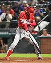 MLB: Shohei Ohtani: Los Angeles Angels vs Texas Rangers
