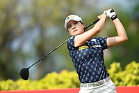 SINGAPORE - MARCH 02: In Gee Chun of South Korea on the 3rd tee during the third round of the HSBC Women's World Championship 2019 at Sentosa Golf Club - Tanjong Course, Singapore on March 02, 2019.<br /> .<br /> .<br /> .<br /> (Photo by: Naratip Golf Srisupab/SEALs Sports Images)<br /> .<br /> Any image use must include a mandatory credit line adjacent to the content which should read: Naratip Golf Srisupab/SEALs Sports Images