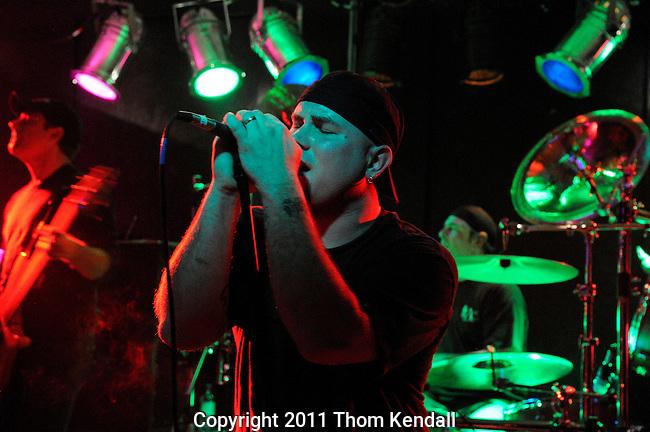 GREENFIELD, MA - DECEMBER 10, 2011 Despite The Ruin @ Winterland's.
