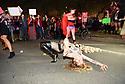Unemployment March -- Stripper Protest
