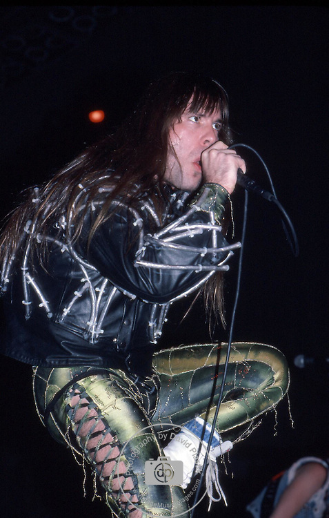 Bruce Dickinson of IRON MAIDEN Iron Maiden