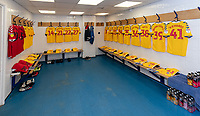 Bolton's Changing Room - kit laid out<br /> <br /> Photographer David Horton/CameraSport<br /> <br /> The EFL Sky Bet League One - Gillingham v Bolton Wanderers - Saturday 31st August 2019 - Priestfield Stadium - Gillingham<br /> <br /> World Copyright © 2019 CameraSport. All rights reserved. 43 Linden Ave. Countesthorpe. Leicester. England. LE8 5PG - Tel: +44 (0) 116 277 4147 - admin@camerasport.com - www.camerasport.com
