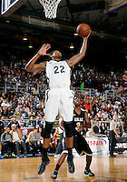 NBA player Rudy Gay rebounds at the South Florida All Star Classic held at FIU's U.S. Century Bank Arena, Miami, Florida. .