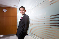 Koo Jae-sang, CEO of Mirae<br /> <br /> Photo portfolio of Kim  / Sinopix