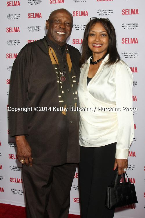 "SANTA BARBARA - DEC 6:  Lou Gossett Jr at the ""Selma"" & Legends Who Paved the Way Gala at the Bacara Resort & Spa on December 6, 2014 in Goleta, CA"