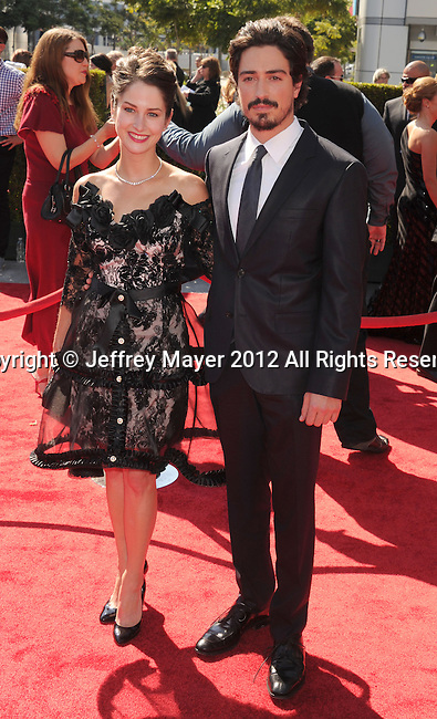 LOS ANGELES, CA - SEPTEMBER 15: Ben Feldman arrives at the 2012 Primetime Creative Arts Emmy Awards at Nokia Theatre L.A. Live on September 15, 2012 in Los Angeles, California.