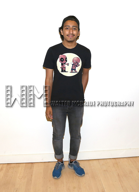 Tony Revolori attends the first day rehearsal for the New Group production of 'Mercury Fur' at the New 42nd Street Studios on July 6, 2015 in New York City.