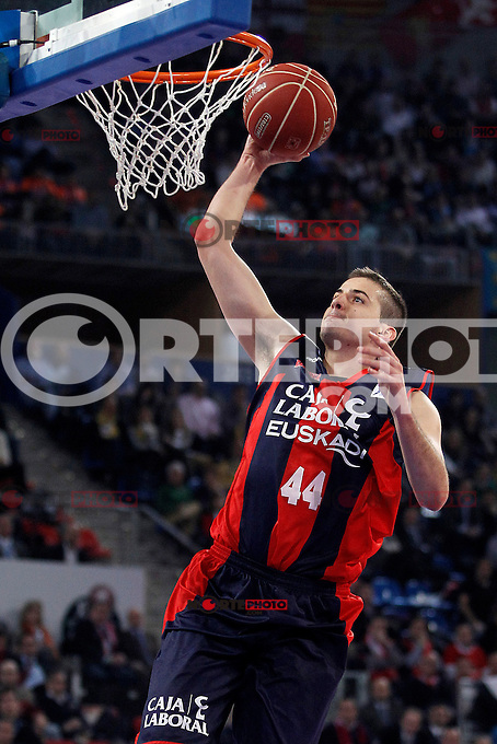 Caja Laboral Baskonia's Nemanja Bjelica during Spanish Basketball King's Cup match.February 07,2013. (ALTERPHOTOS/Acero)