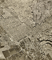 historical aerial photograph Hayward, Alameda county, 1948