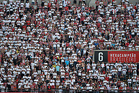 SÃO PAULO,SP, 18.06.2017 - SÃO PAULO-ATLÉTICO-MG – Torcida do São Paulo durante partida contra o Atlético Mineiro, jogo válido pela oitava rodada do Campeonato Brasileiro 2017, disputada no estádio do Morumbi em São Paulo, na tarde deste domingo, 18. (Foto: Levi Bianco/Brazil Photo Press)