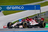 12th July 2020; Styria, Austria; FIA Formula One World Championship 2020, Grand Prix of Styria race day; FIA Formula One World Championship 2020, Grand Prix of Styria,  8 Romain Grosjean FRA, Haas F1 Team