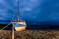 Boats in a bay in Ardvasar, Isle of Skye, Scotland on 2015/06/13. Foto EXPA/ JFK/Insidefoto