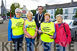 Members of the Listowel Tidy Town in the Listowel Square on Tuesday.<br /> Front l to r:  Daisy Foley, Julie Gleeson (Chairperson), Cllr Jimmy Moloney, Mary Hanlon (Sec) and Helen Worts.