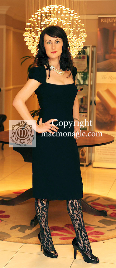 At the fashion and beauty show in aid of Kerry Hospice in The Killarney Court Hotel  was  Cait Duggan, Best Dressed Lady Prize winner<br /> Picture: Eamonn Keogh (MacMonagle, Killarney)