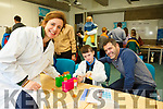 At the IT Tralee Kerry Science Festival on Saturday were Geraldine Twomey Stine, lecturer with Dermot Moyniham and Eoin Moyniham