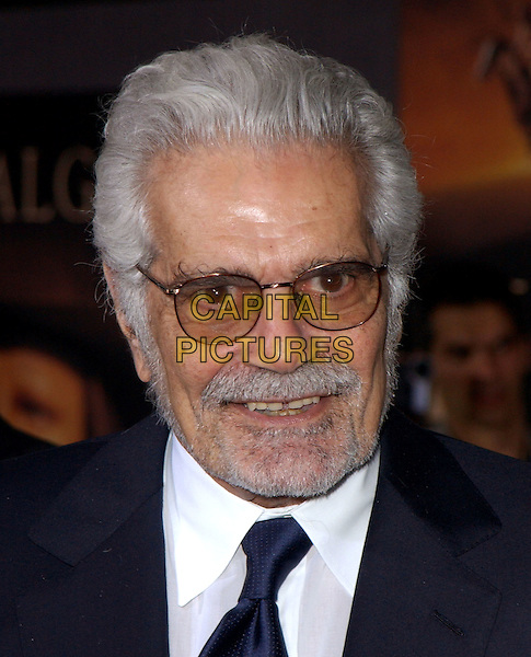 OMAR SHARIF.The World Premiere of Hidalgo held at The El Capitan Theatre in Hollywood, California .01 March 2004.*UK Sales Only*.headshot, portrait, beard, glasses.www.capitalpictures.com.sales@capitalpictures.com.©Capital Pictures.