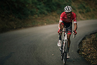 Jasper Stuyven (BEL/Trek-Segafredo) attacking<br /> <br /> 59th Grand Prix de Wallonie 2018 <br /> 1 Day Race from Blegny to Citadelle de Namur (BEL / 206km)